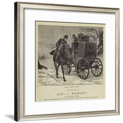 Kit, a Memory-Arthur Hopkins-Framed Giclee Print