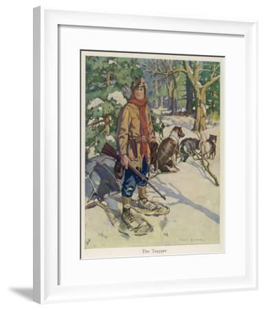 Kit Carson American Trapper and Frontiersman--Framed Giclee Print