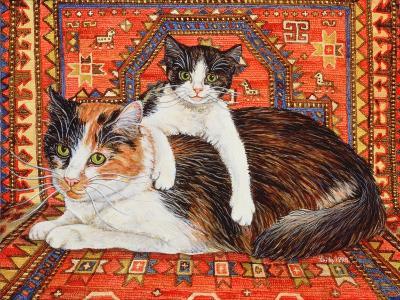 Kit-Cat-Carpet, 1995-Ditz-Giclee Print