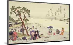 A Page from the 'Gifts of the Ebb Tide' Folio by Kitagawa Utamaro