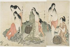 Abalone Divers, 1797-1798 by Kitagawa Utamaro
