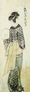 Back View of Ohisa by Kitagawa Utamaro