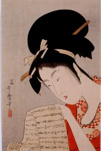 Beauty by Kitagawa Utamaro