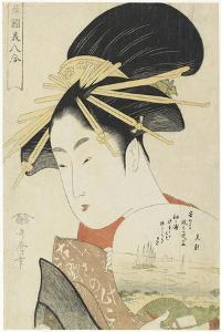 Courtesan Konosumi, 1793-1794 by Kitagawa Utamaro