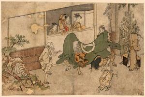 Daikagura by Kitagawa Utamaro