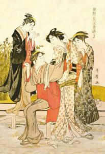 Four Women by Kitagawa Utamaro