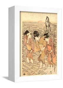 Futamigaura by Kitagawa Utamaro