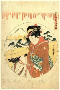 Hachidanme by Kitagawa Utamaro