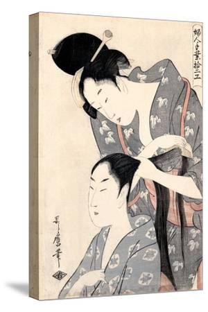 Hairdresser from the Series 'Twelve Types of Women's Handicraft', C.1797-98