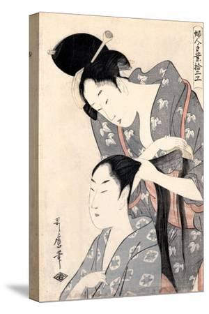Hairdresser (Kamiyu), C. 1798