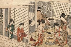 Itsuzuke No Satsuki by Kitagawa Utamaro