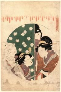 Kudanme by Kitagawa Utamaro