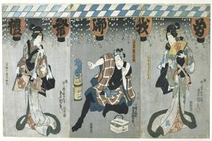 Lovers in an Upstairs Room, from the Poem of the Pillow, 1788 by Kitagawa Utamaro