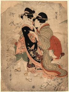 Michinoku by Kitagawa Utamaro