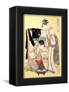 Middle Class Mother and Daughter by Kitagawa Utamaro