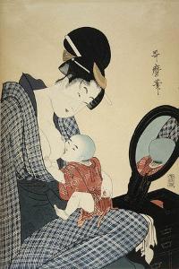 Mother and Child, 1797 by Kitagawa Utamaro