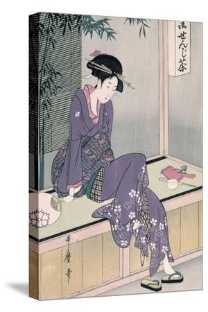 Mujer Sentada En Una Veranda, Ca. 1798