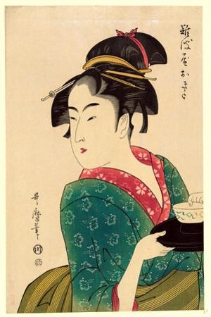 Naniwaya Okita by Kitagawa Utamaro
