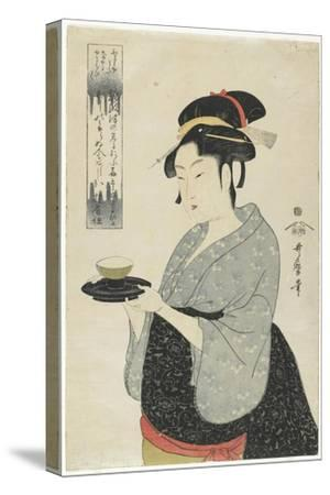 Naniwaya Teahouse Waitress Okita, C. 1793