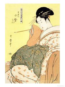 Reigning Beauties: Leisure Time by Kitagawa Utamaro
