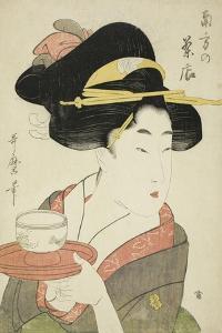 Southern Teahouse by Kitagawa Utamaro