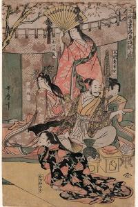 Taiko Gosai Rakuto Yukan No Zu by Kitagawa Utamaro