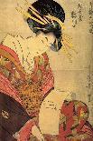 Two Female Figures-Kitagawa Utamaro-Giclee Print