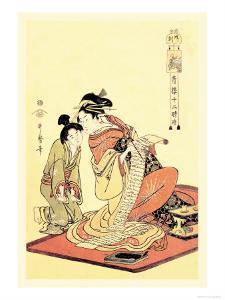 The Hour of the Dog by Kitagawa Utamaro