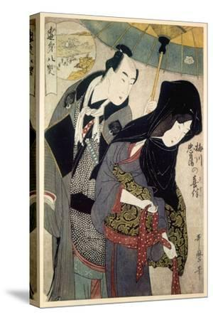 The Lovers, Chubei and Umegawa, Late 18th-Early 19th Century