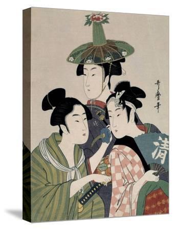 Tôjin, shishi, sumô, 1793