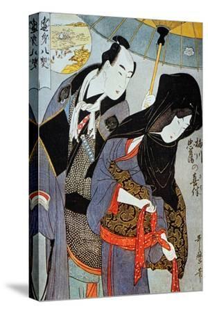 Utamaro: Lovers, 1797