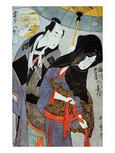 Utamaro: Lovers, 1797 by Kitagawa Utamaro