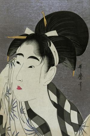 Woman Wiping Sweat, 1798