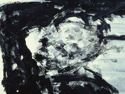 Kitaj with His Hand on His Head, 1995-Stephen Finer-Giclee Print