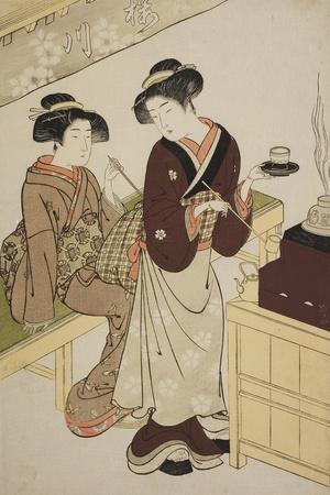 The Sakuragawa Teahouse, C.1777