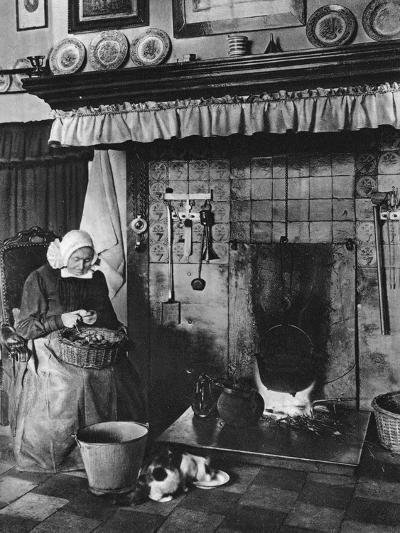 Kitchen and Living-Room in One, Twente, Netherlands, C1934--Giclee Print