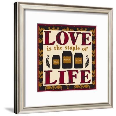Kitchen collection-Melody Hogan-Framed Art Print
