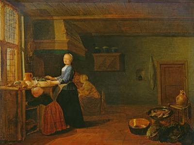 Kitchen Interior-Hendrik Martensz Sorgh-Giclee Print
