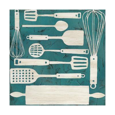 Kitchen Kitsch IV-June Erica Vess-Art Print