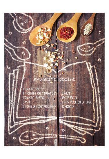 Kitchen Love English-Kuma Kuma-Art Print