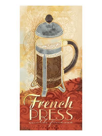Kitchen Tile French Press-Alan Hopfensperger-Art Print