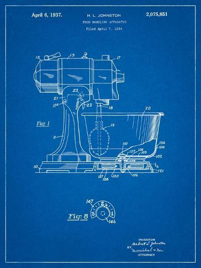 Kitchenaid Kitchen Mixer Patent-Cole Borders-Art Print