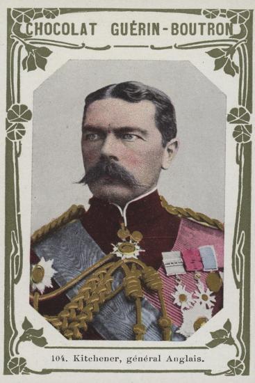 Kitchener, General Anglais--Giclee Print