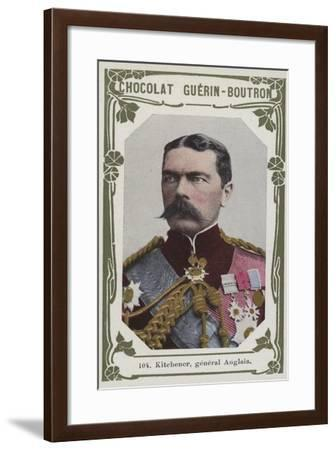 Kitchener, General Anglais--Framed Giclee Print