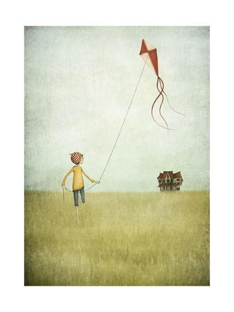 Kite Runner-Maja Lindberg-Art Print