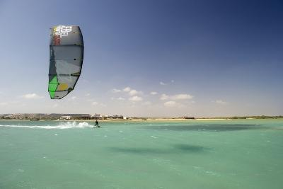 Kite Surfing on Red Sea Coast of Egypt, North Africa, Africa-Louise-Photographic Print