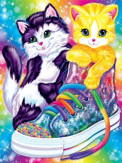 Kitten Sneakers-Lisa Frank-Art Print
