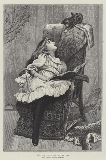 Kittens, Royal Institute Art-Union Exhibition-Charles Burton Barber-Giclee Print