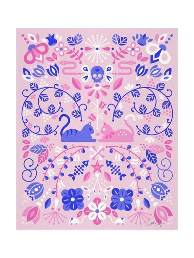 Kittens Symmetry-Cat Coquillette-Giclee Print