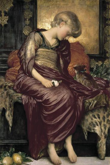 Kittens-Lord Frederic Leighton-Giclee Print
